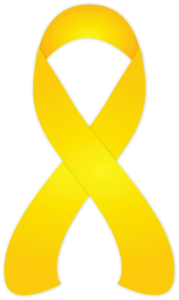 Yellow Ribbon for Suicide Prevention Awareness